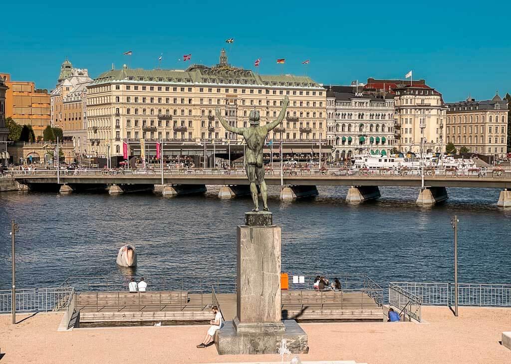 Stockholm Kurztrip mit Grand Hotel und Uferpromenade