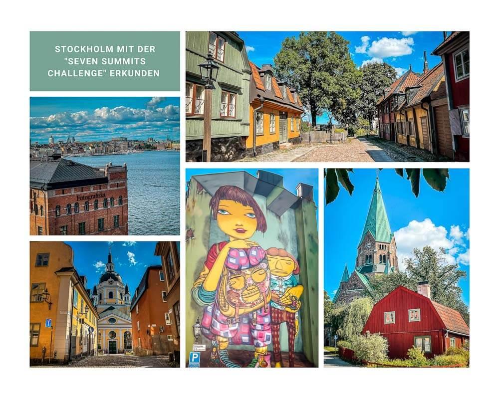 Stockholm Kurztrip Radtour Seven Summits Challenge