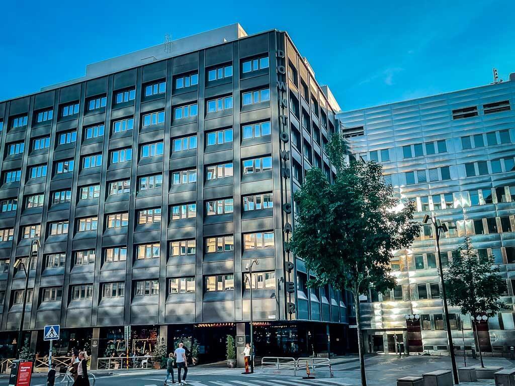 Stockholm Kurztrip Downtown Camper Hotel Außenfassade