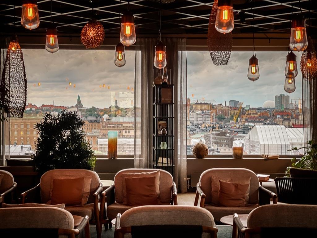 Stockholm Downtown Camper Hotel Cocktail Lounge