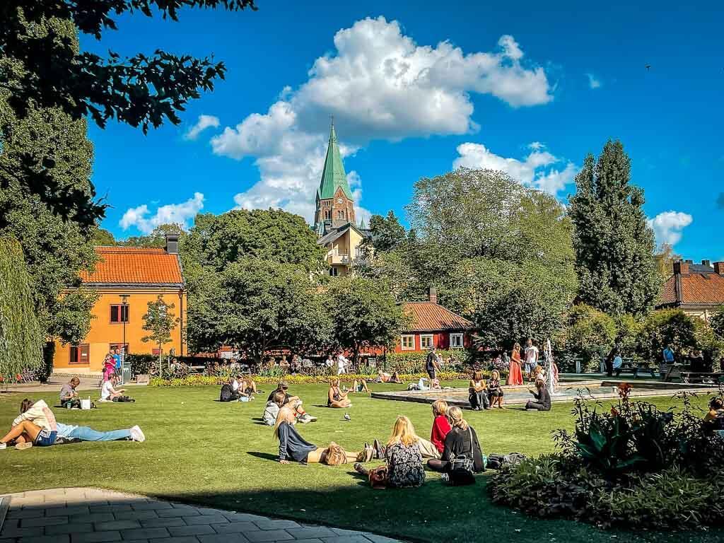 Stockholm Kurztrip Stadtpark
